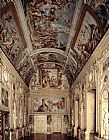 Annibale Carracci The Galleria Farnese painting