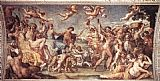 Annibale Carracci Triumph of Bacchus and Ariadne painting