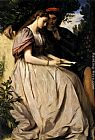 Anselm Friedrich Feuerbach Paolo And Francesca painting