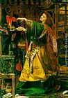 Anthony Frederick Sandys Morgana le Fay painting