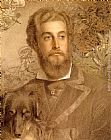 Anthony Frederick Sandys Portrait Of Cyril Flower, Lord Battersea painting