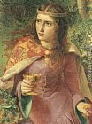 Anthony Frederick Sandys Queen Eleanor painting