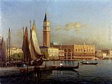 Antoine Bouvard The Grand Canal, Venice painting