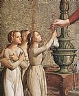 Antoniazzo Romano Annunciation (detail) painting