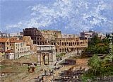 Antonietta Brandeis The Colosseum Rome painting