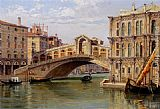 Antonietta Brandeis The Rialto Bridge painting