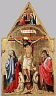 Antonio Da Firenze Crucifixion with Mary and St John the Evangelist painting
