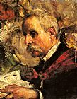 Antonio Mancini A Portrait of the Artist's Father painting