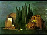 Arnold Bocklin Island of the Dead painting