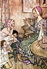 Arthur Rackham Goblin Market Laura would call the little ones painting