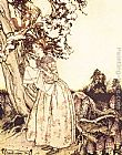 Arthur Rackham Mother Goose The Fair Maid who the first of Spring painting