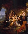 Ary Scheffer Greek Women Imploring for Assistance painting