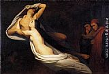 Ary Scheffer The Ghosts of Paolo and Francesca Appear to Dante and Virgil painting