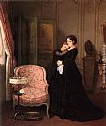 Auguste Toulmouche Consolation painting