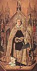 Bartolome Bermejo St Dominic Enthroned in Glory painting