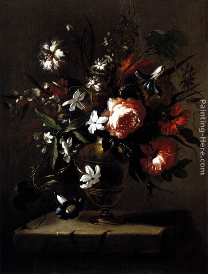 Bartolome Perez Vase of Flowers