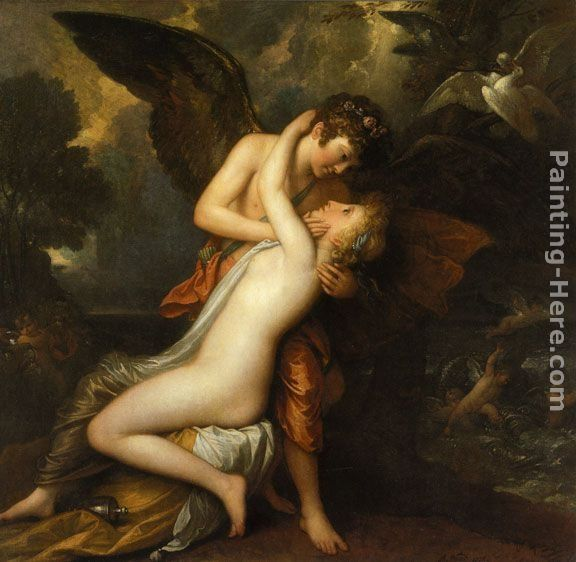 Benjamin West Cupid and Psyche