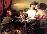 Benjamin West Helen Brought From Paris painting