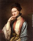 Benjamin West Portrait of Ann Barbara Hill Medlycott (1720-1800) painting