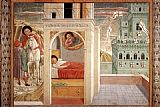 Benozzo di Lese di Sandro Gozzoli Scenes from the Life of St Francis (Scene 2, north wall) painting