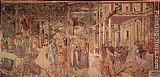 Benozzo di Lese di Sandro Gozzoli The Vintage and Drunkenness of Noah painting