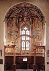Benozzo di Lese di Sandro Gozzoli View of the main apsidal chapel painting