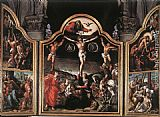 Bernaert van Orley Altarpiece of Calvary painting