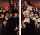Bernaert van Orley Haneton Triptych (wings) painting