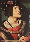 Bernaert van Orley Portrait of Charles V painting