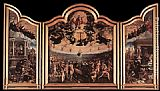 Bernaert van Orley The Last Judgment painting
