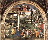 Bernardino Pinturicchio Adoration of the Child painting