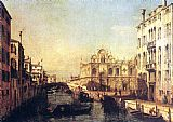 Bernardo Bellotto The Scuola of San Marco painting