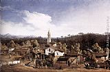 Bernardo Bellotto View of Gazzada near Varese painting