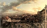 Bernardo Bellotto View of Warsaw from the Royal Palace painting
