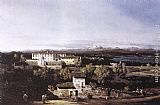 Bernardo Bellotto View of the Villa Cagnola at Gazzada near Varese painting