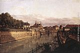 Bernardo Bellotto Zwinger Waterway painting