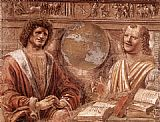 Bramante Heraclitus and Democritus painting