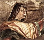 Bramante Man with a Halbard (detail) painting