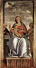 Bramantino Madonna and Child with Two Angels painting