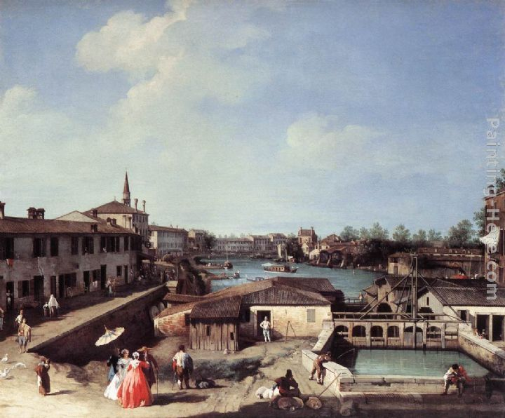 Canaletto Dolo on the Brenta