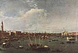 Canaletto Bacino di San Marco painting