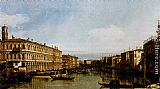 Canaletto Grand Canal painting