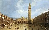 Canaletto Piazza San Marco painting