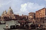 Canaletto The Molo Looking West (detail) painting