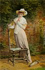Carlton Alfred Smith In The Garden painting