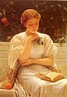 Charles Edward Perugini In The Orangery painting