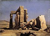 Charles Gleyre Egyptian Temple painting