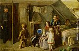 Charles Hunt The Stolen Child painting