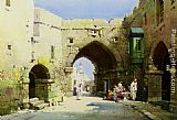 Charles Leaver An Arabian Mosque painting