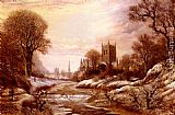 Charles Leaver Worchester From The South West painting